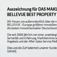 Qualitätssiegel bester Immobilienmakler