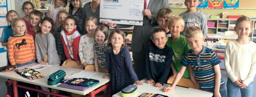 Spende an Grundschule Landsberg