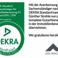DEKRA Sachverständiger für Immobilienbewertung D1